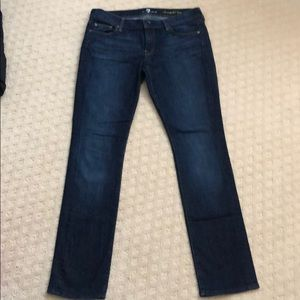 Ladies 7 For All Mankind jeans size 30